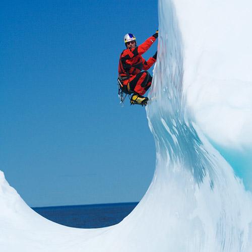 Will Gadd Ice Climbing